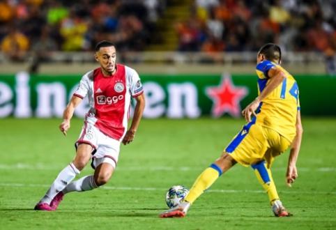 """ČL atranka: """"Ajax"""" neįveikė APOEL, G. Arlauskio klubas patyrė nesėkmę"""