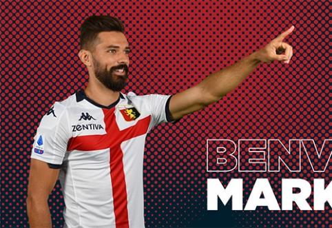 """Oficialu: """"Genoa"""" ekipa pasiskolino M.Pajacą"""