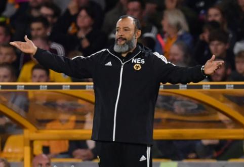 """""""Wolves"""" treneris nepatenkintas dėl užsitęsusios VAR peržiūros"""
