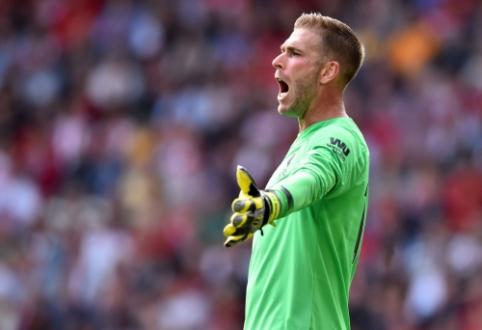 """G. Wijnaldumas užstojo rungtynėse su """"Southampton"""" suklydusį Adrianą"""
