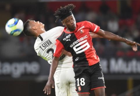 """Į """"Ligue 1"""" istoriją įsirašęs 16-metis """"Rennes"""" saugas surengė įspūdingą pasirodymą prieš PSG"""