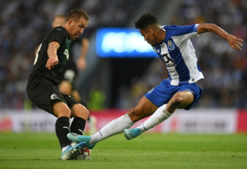 """""""Porto"""" ir """"Celtic"""" baigė pasirodymą ČL atrankoje, """"Ajax"""" turėjo problemų su graikais"""