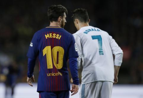 C. Ronaldo įvardijo pagrindinį skirtumą tarp savęs ir L. Messi