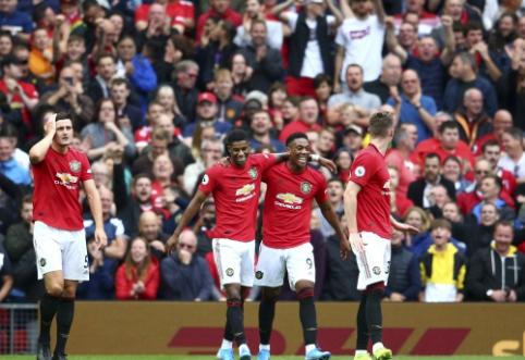 """Antrajame kėlinyje užsivedęs """"Man Utd"""" sutriuškino """"Chelsea"""" vienuolikę"""