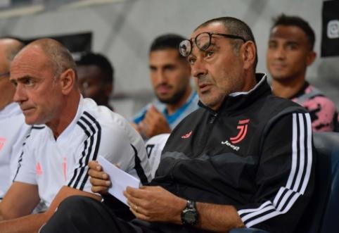 """M. Sarri atleidimas """"Juventus"""" kainuos apvalią sumą"""