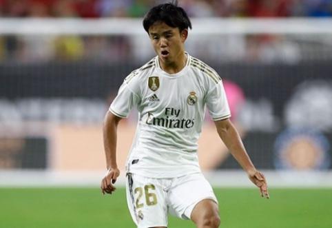 """""""Real"""" netikėtai atrastą japonų perlą siunčia į """"La Liga"""" pirmenybes"""