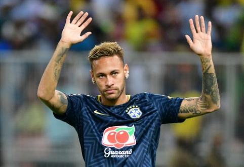 """Madrido """"Real"""" pradėjo derybas dėl Neymaro įsigijimo?"""