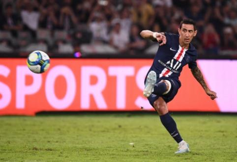 Puikus A. Di Maria įvartis nulėmė PSG pergalę Prancūzijos Supertaurėje