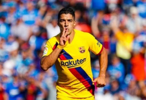 """""""Barcelona"""" iškovojo dar tris svarbius taškus Ispanijos pirmenybėse"""