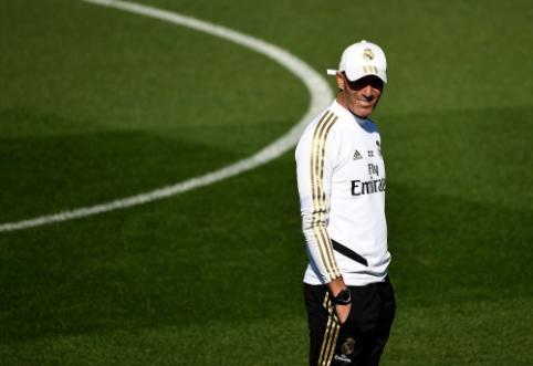 """Z. Zidane'as prieš artėjantį derbį: """"Tai tik dar vienos rungtynės lygoje..."""""""