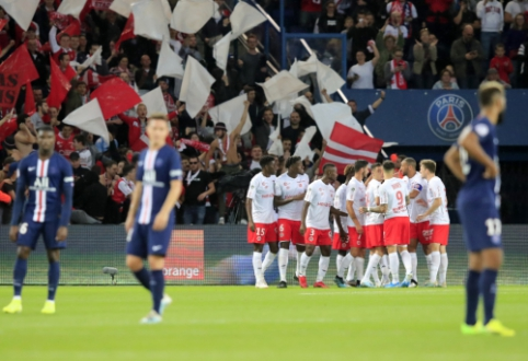 Prancūzijoje – antrasis PSG ekipos pralaimėjimas