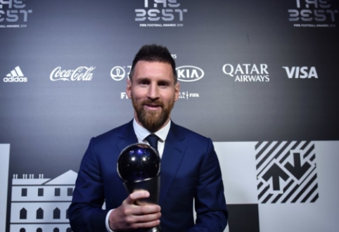 FIFA geriausias metų futbolininkas – L. Messi