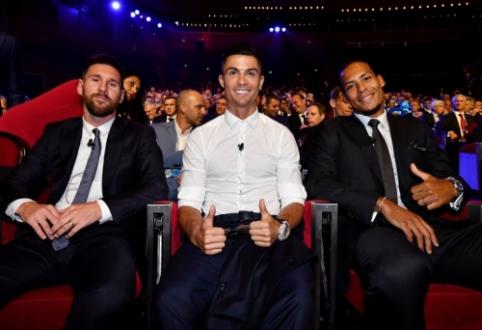 Šiandien Milane – FIFA metų apdovanojimai (apklausa)