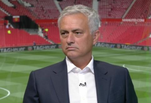 """J. Mourinho: """"Man Utd"""" atrodo prasčiau nei praėjusį sezoną"""""""
