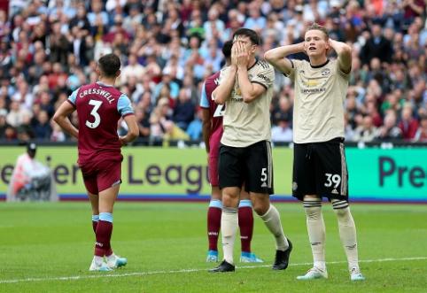 """""""Man Utd"""" išvykoje nusileido """"West Ham"""" ekipai"""