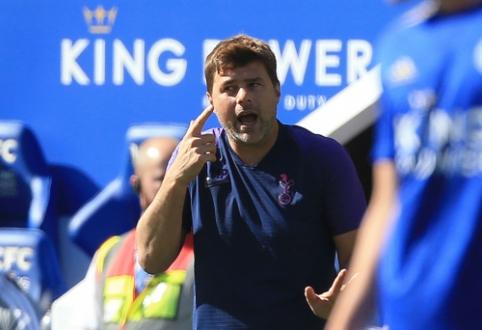 """M. Pochettino: """"VAR leido """"Leicester"""" ekipai grįžti į rungtynes"""""""