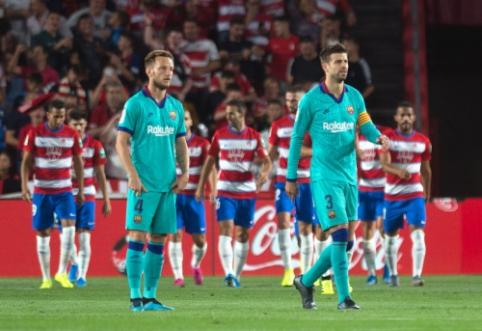 """Lygos naujokė """"Granada"""" sudavė dar vieną smūgį """"Barcelona"""" ekipai"""