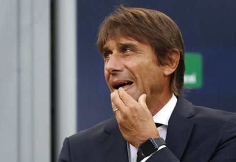 A.Conte: Italijos ekipų fanai degradavo