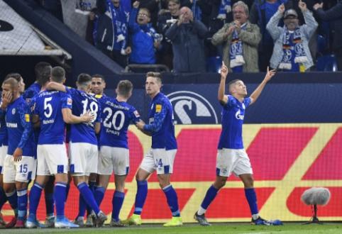 """""""Schalke"""" rungtynių pabaigoje palaužė """"Mainz"""" ekipą"""