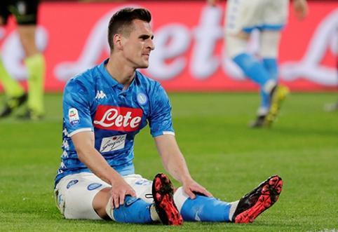 """""""Napoli"""" pradėjo derybas su A.Miliku"""