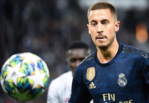 """R.Ferdinandas: E.Hazardas į """"Real"""" atvyko netinkamu metu"""