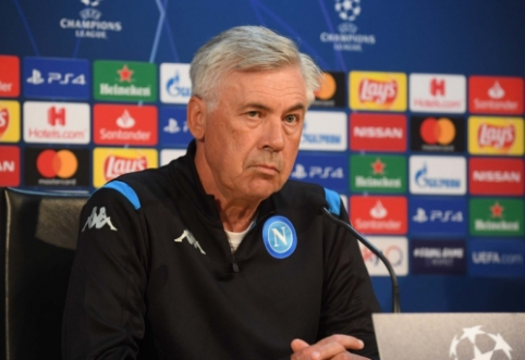 """C. Ancelotti: """"Žaisime prieš geriausią komandą Europoje"""""""