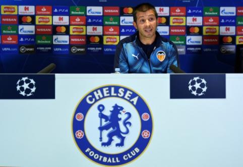 """Trenerio atleidimui nepritarę """"Valencia"""" žaidėjai atsisakė dalyvauti spaudos konferencijoje"""