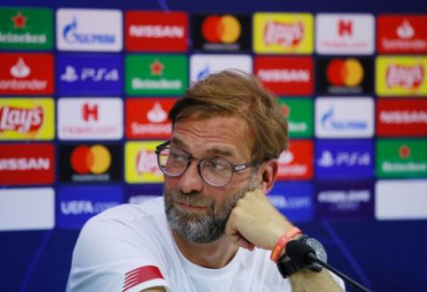 """J. Kloppas: """"Man City"""" yra geriausia komanda pasaulyje"""""""