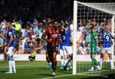 """""""Bournemouth"""" namuose sudavė smūgį """"Everton"""" komandai"""