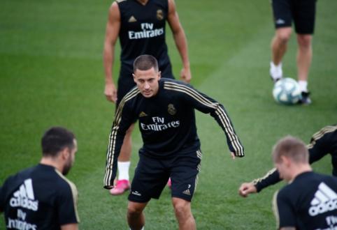 """Z. Zidane'as: """"Hazardas yra pasiruošęs mačui su """"Levante"""""""