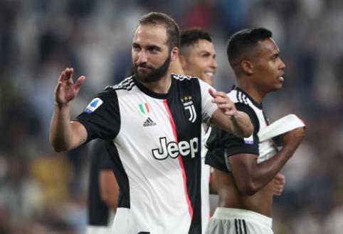 """G. Higuainas: """"Norėjau likti """"Juventus"""" gretose"""""""