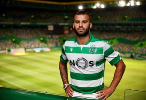 Oficialu: Jese šį sezoną rungtyniaus Portugalijoje