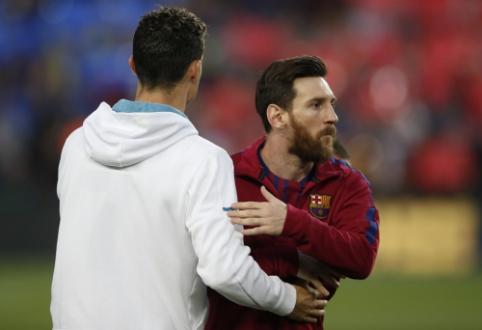 Klubiniai įvarčiai: L. Messi paliko už nugaros C. Ronaldo