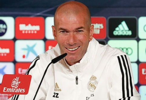 """G. Bale'u patenkintas Z. Zidane'as: """"Negirdėjau, kad jis kalbėtų apie išvykimą"""""""