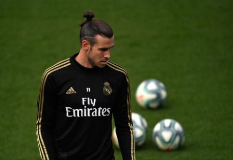 """Futbolu daugiau nebesimėgaujantis G. Bale'as nori artėjančią žiemą palikti """"Real"""""""