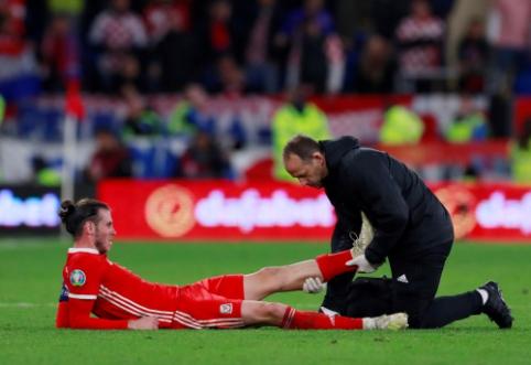 """Keista situacija: G. Bale'as toliau nesitreniruoja su """"Real"""", bet apie traumą – jokios informacijos"""