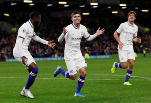 """Skambus prisistatymas: C. Pulisicas """"hat-tricku"""" atsidarė įvarčių sąskaitą """"Chelsea"""" klube"""