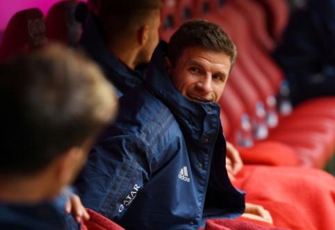 """""""Bild"""": """"Man Utd"""" jungiasi į kovą dėl T. Mullerio"""