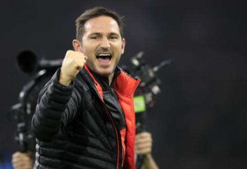 """F. Lampardas po pergalės prieš """"Ajax"""": """"Labiausiai džiugina futbolininkų atsidavimas"""""""