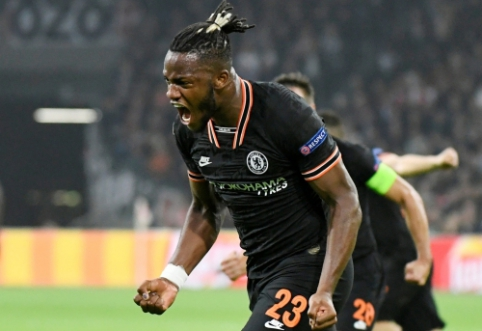 "M. Batshuayi atvedė ""Chelsea"" į pergalę mače su ""Ajax"""