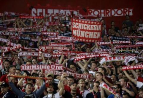 """Graikijoje užpulti ir sužeisti """"Bayern"""" fanai"""
