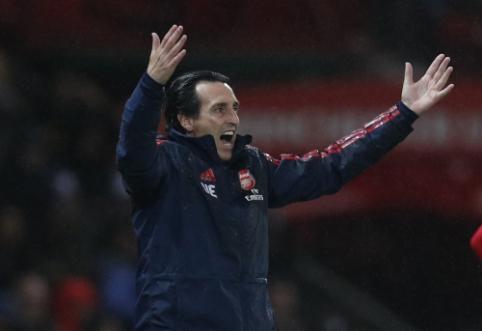 """A. Wengero pasitraukimas nepadėjo: statistika rodo, kad """"Arsenal"""" prie U. Emery regresuoja """"Premier"""" lygoje"""