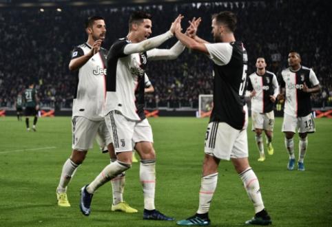 """""""Juventus"""" ir """"Napoli"""" šventė pergales Italijoje"""