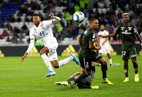 """""""Ligue 1"""": """"Lyon"""" neįveikė autsaiderių"""