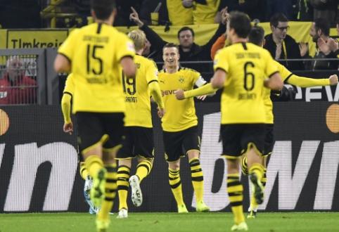 """M. Reuso įvartis lėmė BVB pergalę prieš """"Bundesliga"""" lyderius"""