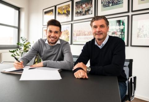 """""""Borussia"""" pasirašė naują sutartį su portugalu R. Guerreiro"""