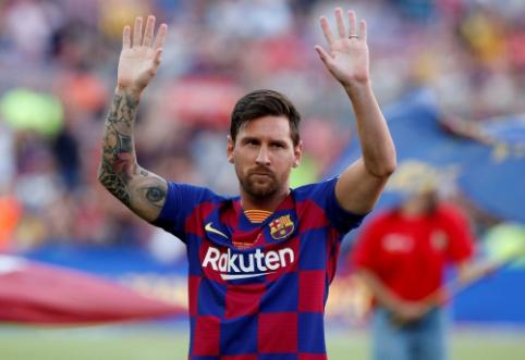"""L. Messi: """"Svarbiausia yra gerai pasirodyti """"La Liga"""" pirmenybėse"""""""
