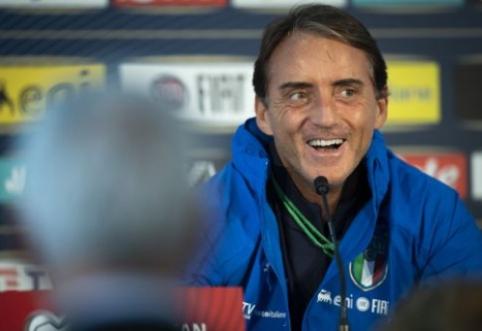 R. Mancini toliau nerimsta: žaisime priemiesčio lauke