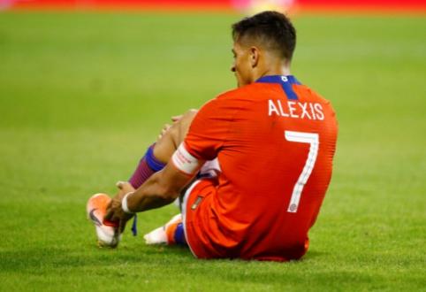 A. Sanchezui be futbolo gali tekti praleisti tris mėnesius