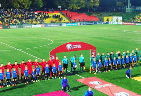 Lietuviai pelnė įvartį, tačiau LFF stadione triumfavo serbai